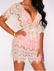 Womens Casual Beach Swimwear Dress Bathing Lace White Black Suit Sexy Cover up