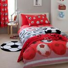 Catherine Lansfield Red Football Bedding, Curtains Or Accessories