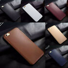 New Ultra Thin Slim Soft Leather Feel TPU Silicone Case Cover for iPhone 6s Plus