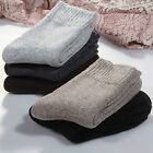 Wholesale women winter wool socks thick in tube socks cashmere business