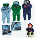 Infant Baby Boy Sporty Tracksuit Hip Hop Romper, Navy, Blue, Green 0-6 Months