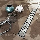 Fashion design Linear Shower Floor Line Drain Channel,  Stainless Steel 60-100cm