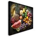 Super Fruit Selection Canvas wall Art prints high quality great value sq