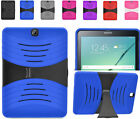 2Layer Rugged U-Case Cover w/Stand For Samung Galaxy Tab S2 9.7 T817 Tablet