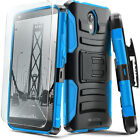 DROID Turbo 2 Evocel Case w/ Rugged Holster, Kickstand, Belt Clip & Screen Saver