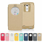 LG G3 Case MERCURY Goospery Wow Bumper Window View Flip Shock Absorption Cover
