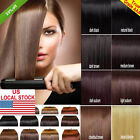 """US STOCK 45""""Wide 20""""22""""Long Weft Weave Hair 100% Remy AAA Human Hair Extensions"""