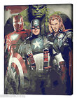 Acrylic Painting by Number kit 50x40cm (20x16'') Marvel's The Avenger DIY ML7103