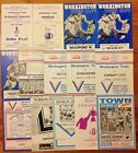 Workington Town Rugby League Programmes 1967 - 1993