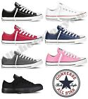 Converse All Star Chuck Taylor Canvas Shoes Low Top All Sizes