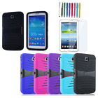 Hybrid Rugged Stand Cover Hard Case for Samsung Galaxy Tab3/4 7.0 P3200 SM-T230