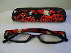 New Betty Boop Reading Glasses 300,250,200,150 100 Strength Hearts  Design
