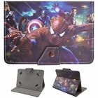 """For Verizon Ellipsis 7"""" 8"""" 10"""" 4G LTE Tablet Universal Leather Stand Case Cover"""