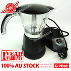 Electric Espresso Moka Coffee Maker Italian Classic With Auto Cut-off 1-6cups