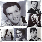 Celebrity Icon Retro Vintage Filled Cushions Printed Cushion Covers