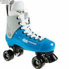 "SUPREME ""Bravo"" Quad Rollerskates Complete 4uk - 13uk Blue/Grey Skates SALE"