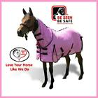 LOVE MY HORSE Soft Mesh 3'6 - 4'9 MINI Combo Summer 270 gsm No Flies / UV PINK