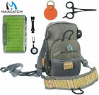 Fly Fishing Chest Pack Bag Combo/Outdoor Sports Fishing Pack & Nipper & Forceps