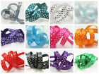 10mm POLKA DOT SATIN RIBBON *13 COLOURS* WEDDING INVITE CRAFTS CARD MAKING DUMMY