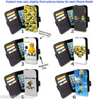 HD Minions iPhone Samsung Sony Blackberry LG Phone cover WALLET Flip Case AC24