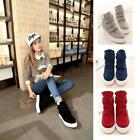 Women's High Sale Velcro Strap Athletic Sneakers Shoes Lady Ankle Boots Best New