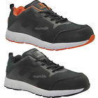 MENS ULTRA LIGHTWEIGHT STEEL TOE CAP SAFETY WORK TRAINERS SHOES LACE UP BOOTS
