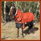 LOVE MY HORSE RUG 1200D 180g 5'0 - 6'9 Waterproof Ripstop Winter Combo Orange