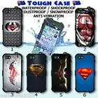 Tough Waterproof CASE Phone COVER HD Superman Logo Collection 25