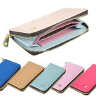 Leather Wallet Credit Card Case Purse for HTC One M7 M8 M9 Nokia Sony HUAWEI