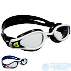 AQUASPHERE KAIMAN EXO PERFORMANCE SWIMMING GOGGLES, CLEAR LENSES,