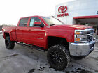 Chevrolet: Silverado 2500 Crew Cab 2500 HD Duramax Diesel 4x4 Leather Red