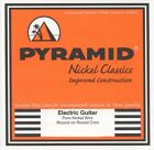 PYRAMID NICKEL CLASSICS Pure Nickel Round Core E-Gitarre Saiten SATZ f. E-Guitar