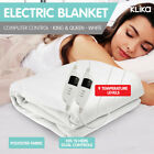 NEW ELECTRONIC ELECTRIC BLANKET HEATED FITTED in KING and QUEEN size BED