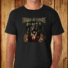 New Cradle of Filth British Metal Band Men's Black T-Shirt Size S to 3XL