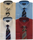 Mens Boxed Shirt And Tie Set Office Formal Businessman Style By Tom Hagan