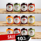 PERSONALISED JAM POT LID JAR LABELS HOMEMADE PRESERVES CONSERVE JAMS