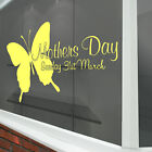 Mothers Day Wall & Window Stickers Mother New Decals Shop Window Display A337
