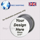 Personalised Badges - Wedding, Hen Stag, Birthday, Party - Any Custom Message