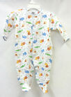 Noa Lily 3pc Safari Pima Cotton Layette Set for Baby, Size 3 Months
