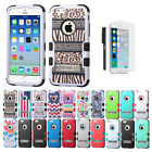 For Apple iPhone 6/6s Case, LUXCA Tuff Cover Case w/ Kickstand