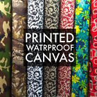 Kyпить  Printed Canvas Fabric Waterproof Outdoor 60