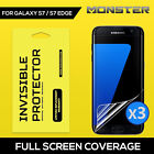 TAGGSHIELD [Full Coverage] SCREEN PROTECTOR FILM FOR Samsung Galaxy S7/S7 edge