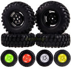 4x RC 1:10 Racing Climbing Rock Crawler Wheel Rim & 108MM Tyre Tires 4025-7032