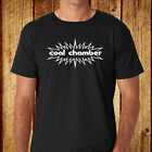 Coal Chamber Metal Rock Band Logo Men's Black T-Shirt Size S-3XL Free Shipping