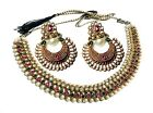 Indian Jewelry Necklace Earrings Bollywood Ethnic Bridal Wedding Traditional