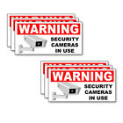 Внешний вид - SECURITY CAMERA IN USE 5inch Multi-packs Warning Adhesive Decals Labels Stickers