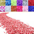 500Pcs Silk Rose Petals Bridal Flowergirl Basket Flower Wedding Supplies Decor