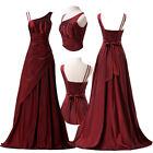 Stock Sexy Vintage Evening Cocktail Formal Party Dress Bridesmaid Prom Ball Gown