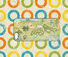 Winnie The Pooh Eeyore Map Home Case For iPhone iPad Samsung Galaxy Cover 421