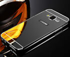 Luxury Plating Aluminum+PC Ultra-thin Mirror Metal Case Cover For Samsung Galaxy